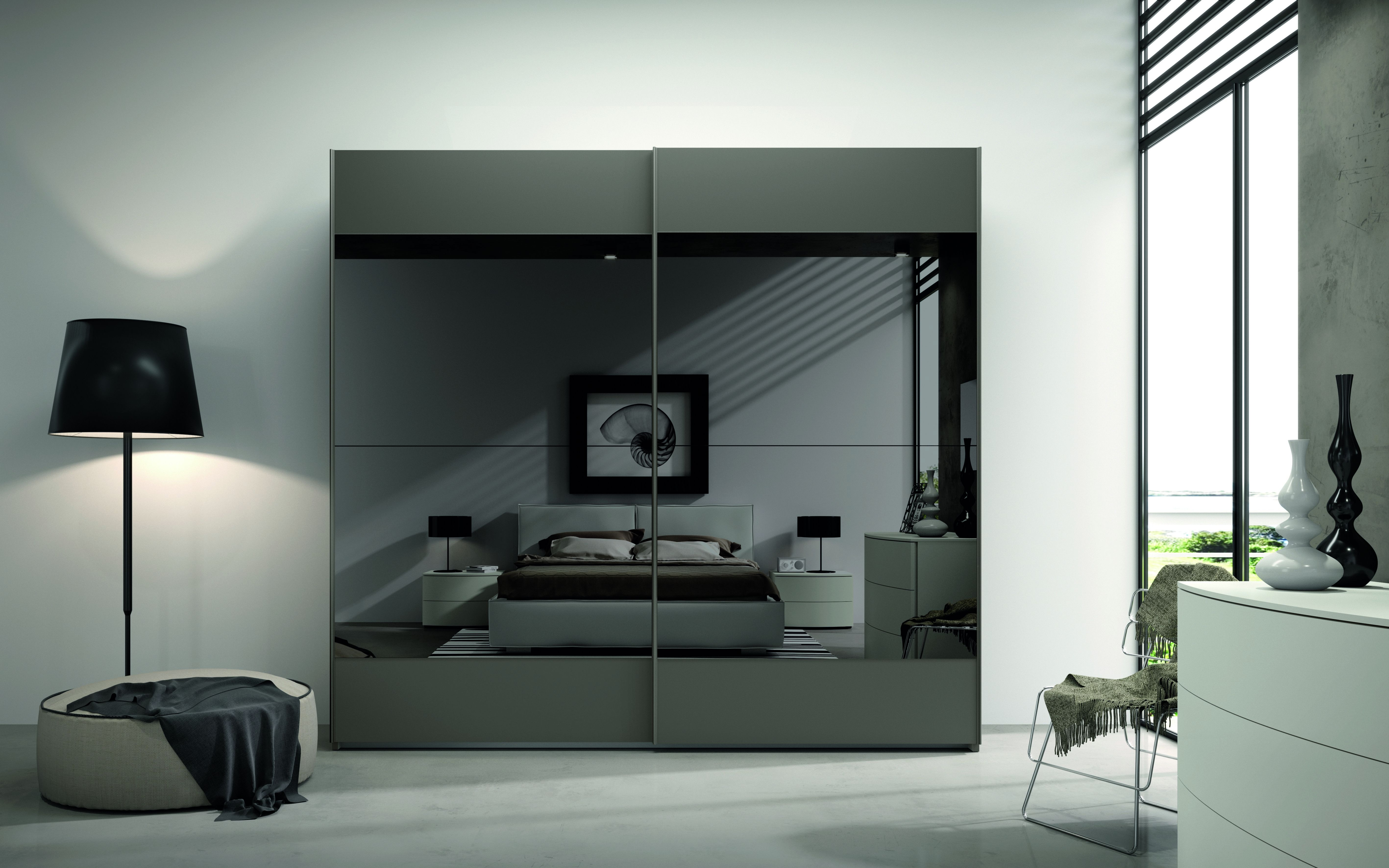Vendita mobili online - armadio scorrevole 2 ante riquadri ...