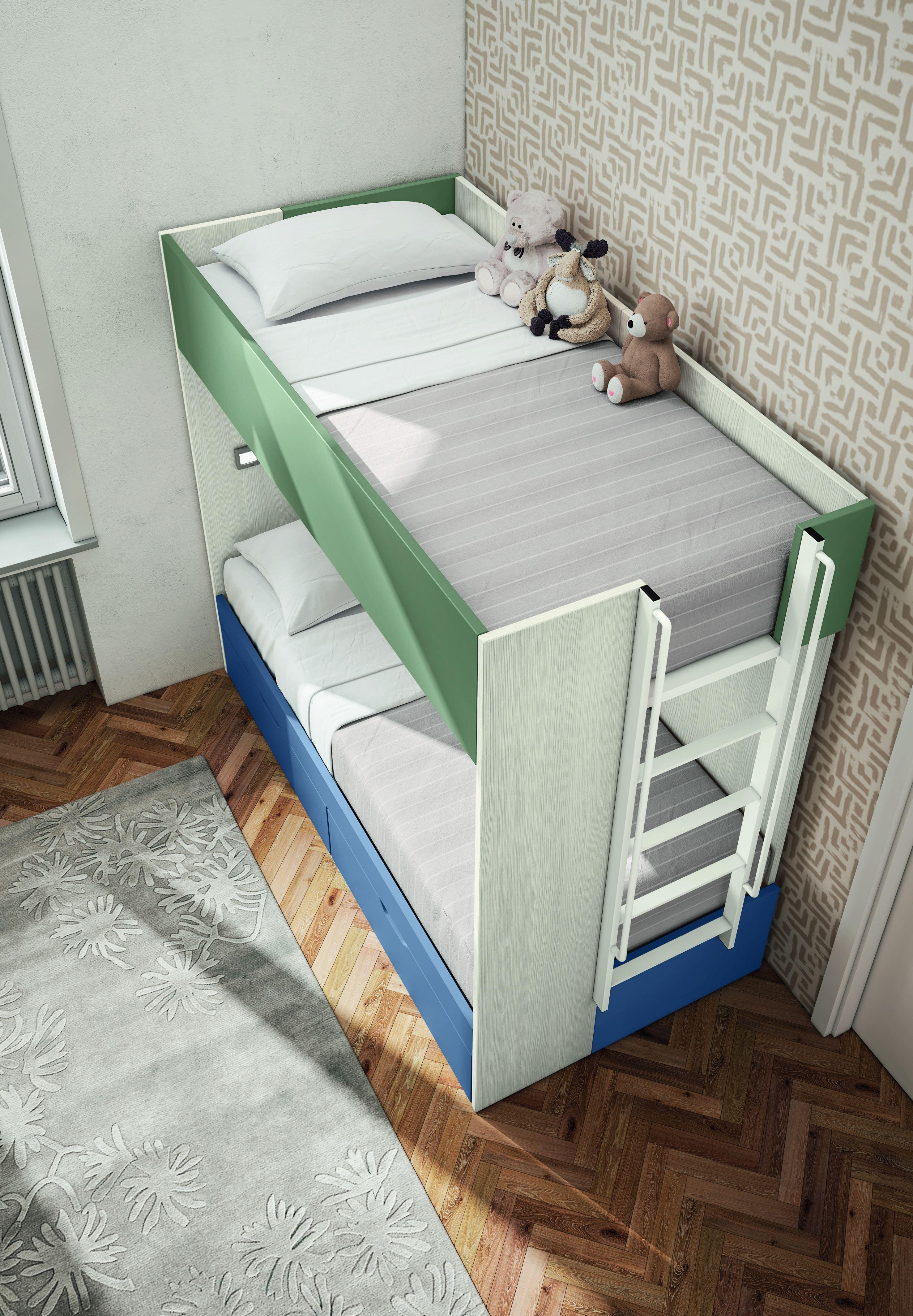 Vendita mobili online - Letto castello 1 letto dx IAGO ...