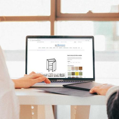 Vendita mobili online cucina componibile gola acquista for Acquista mobili online