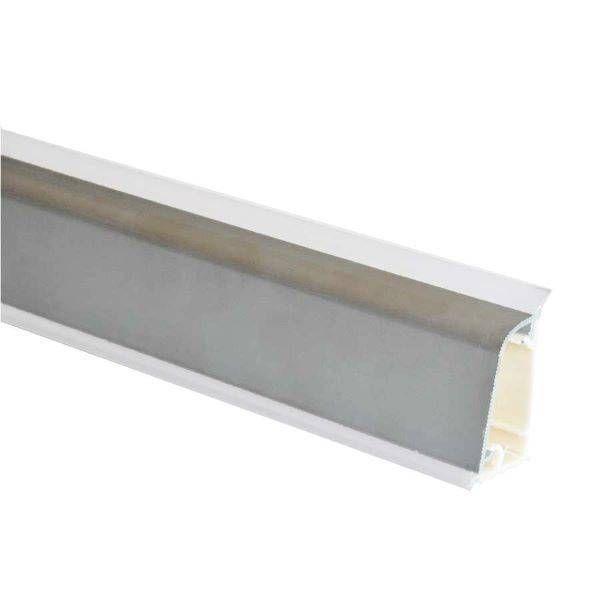 Alzatina spessore 2 H.3 cm alluminio lucido