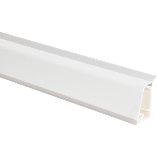 Alzatina spessore 2 H.3 cm alluminio bianco
