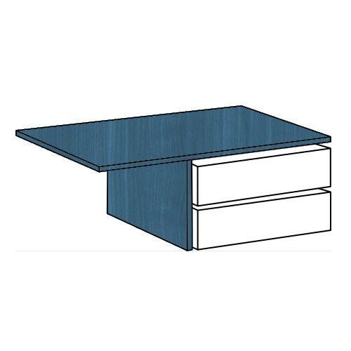 Cassettiera per armadio L.179 LICIA Blu