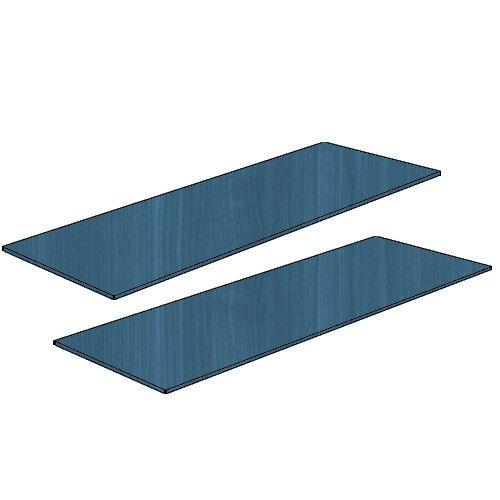 Coppia ripiani per armadio L.179 LICIA Blu