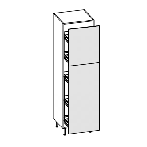 Colonna cestello estraibile H.204 P.58 cm IMOLA