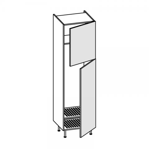 Colonna frigo freezer LT.240/260 2 ante H.204 P.58 L.60 cm IMOLA
