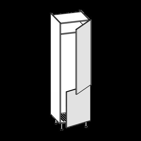 Colonna frigo combi LT.300 2 ante H.204 P.58 L.60 cm IMOLA