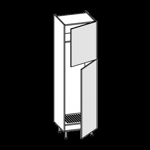 Colonna frigo freezer LT.285 2 ante H.204 P.58 L.60 cm IMOLA