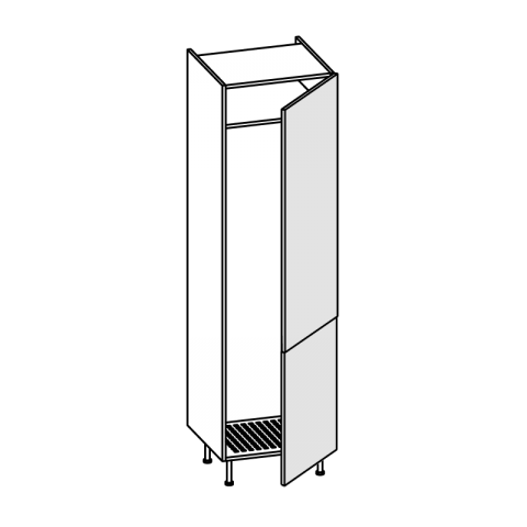 Colonna frigo LT.300 2 ante H.204 P.58 L.60 cm IMOLA