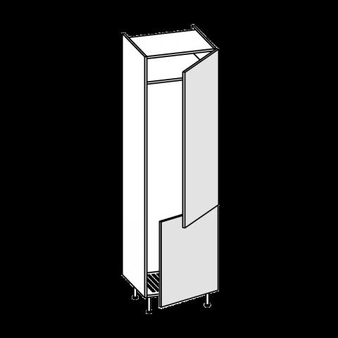 Colonna frigo combi LT.330 2 ante H.204 P.58 L.60 cm IMOLA