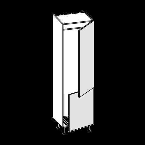 Colonna frigo Everest 2 ante H.204 P.58 L.60 cm IMOLA