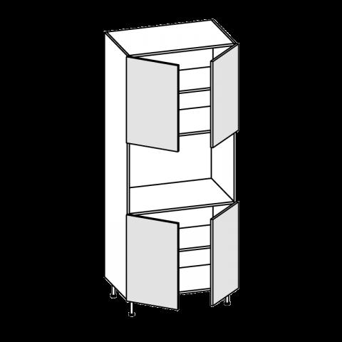 Colonna maxiforno H.60 4 ante H.204 P.58 L.90 cm IMOLA