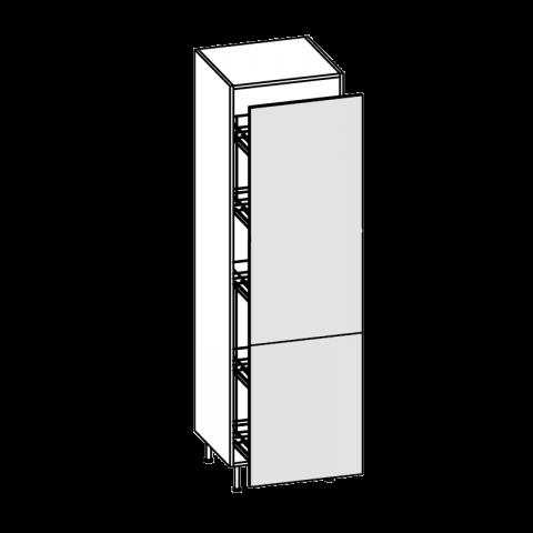Colonna cestello estraibile bis H.204 P.58 cm IMOLA