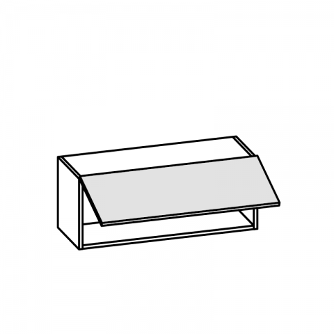 Pensile 1 anta basculante H.36 P.34 cm