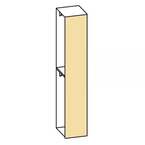 Elemento armadio 1 anta L.44 H.245 IAGO