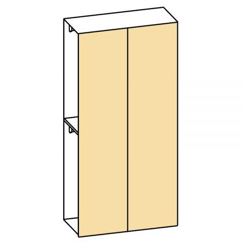 Elemento armadio 2 ante L.120 H.245 IAGO