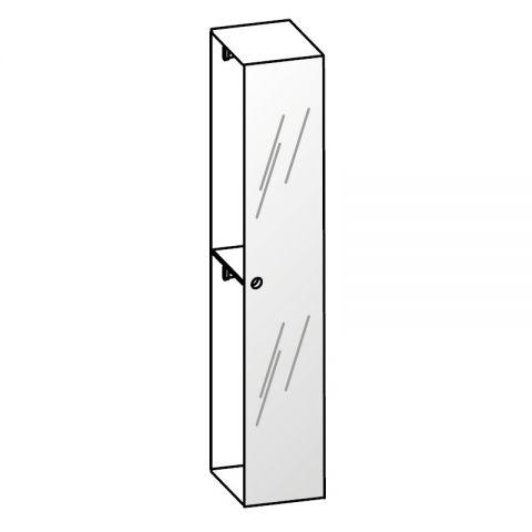 Elemento armadio 1 anta specchio L.44 H.245 IAGO
