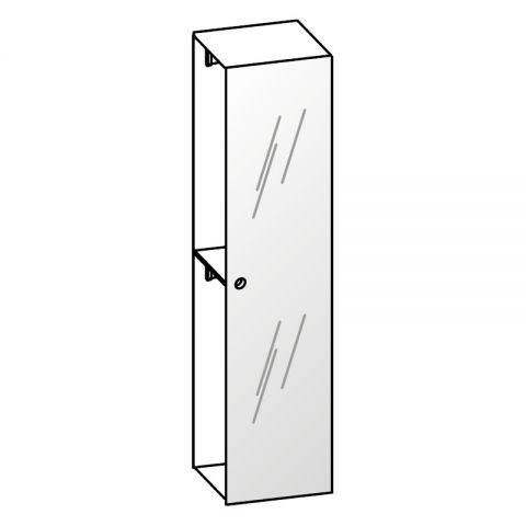 Elemento armadio 1 anta specchio L.59 H.245 IAGO