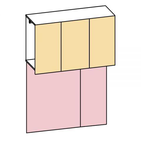 Elemento armadio ponte 3 ante L.150 H.225 IAGO