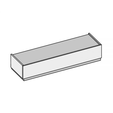 Elemento 1 cassetto L.121,8 H.24,4 P.53,2 cm GR01 ISCHIA