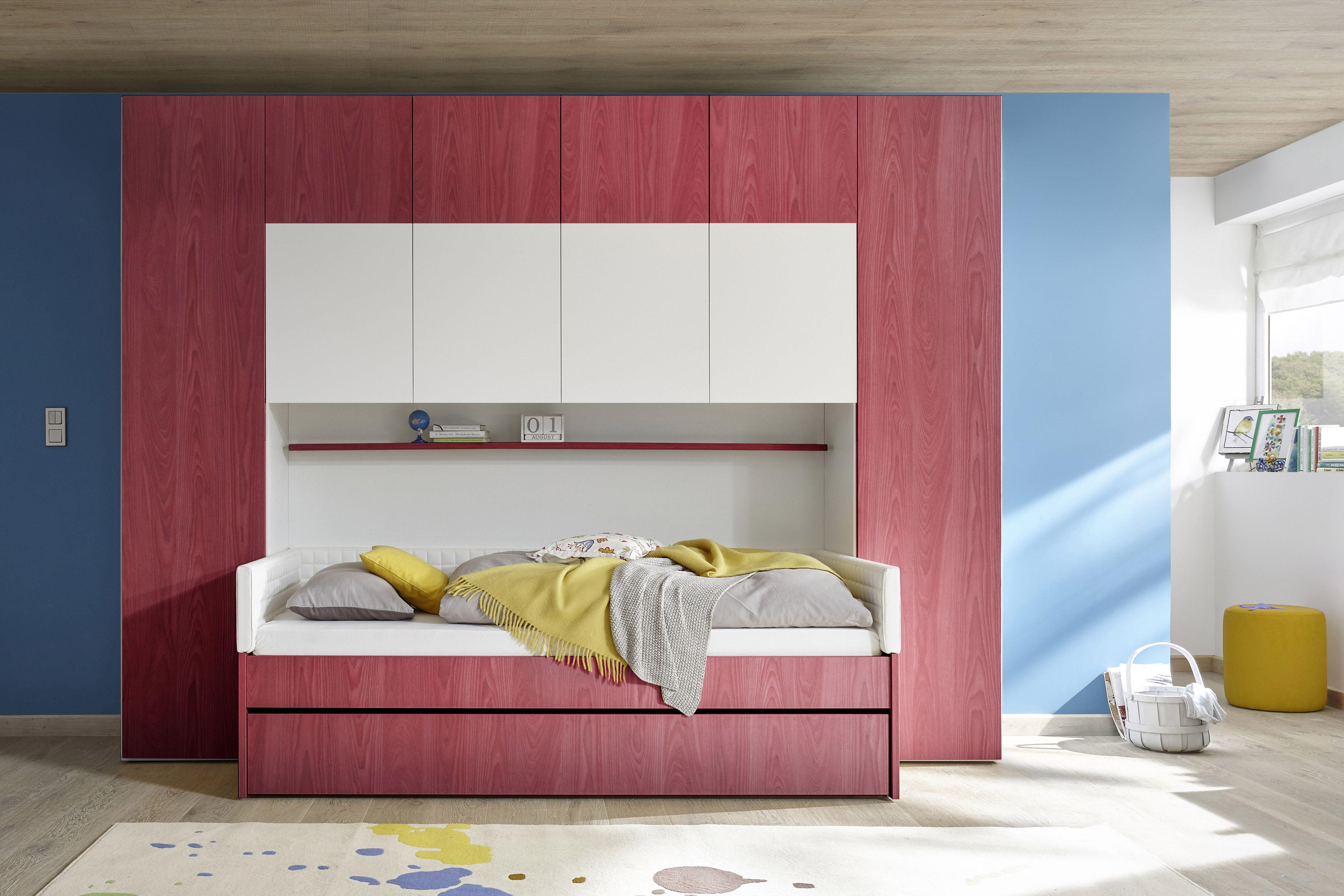 Divano Rosso E Grigio cameretta licia ponte con divano letto