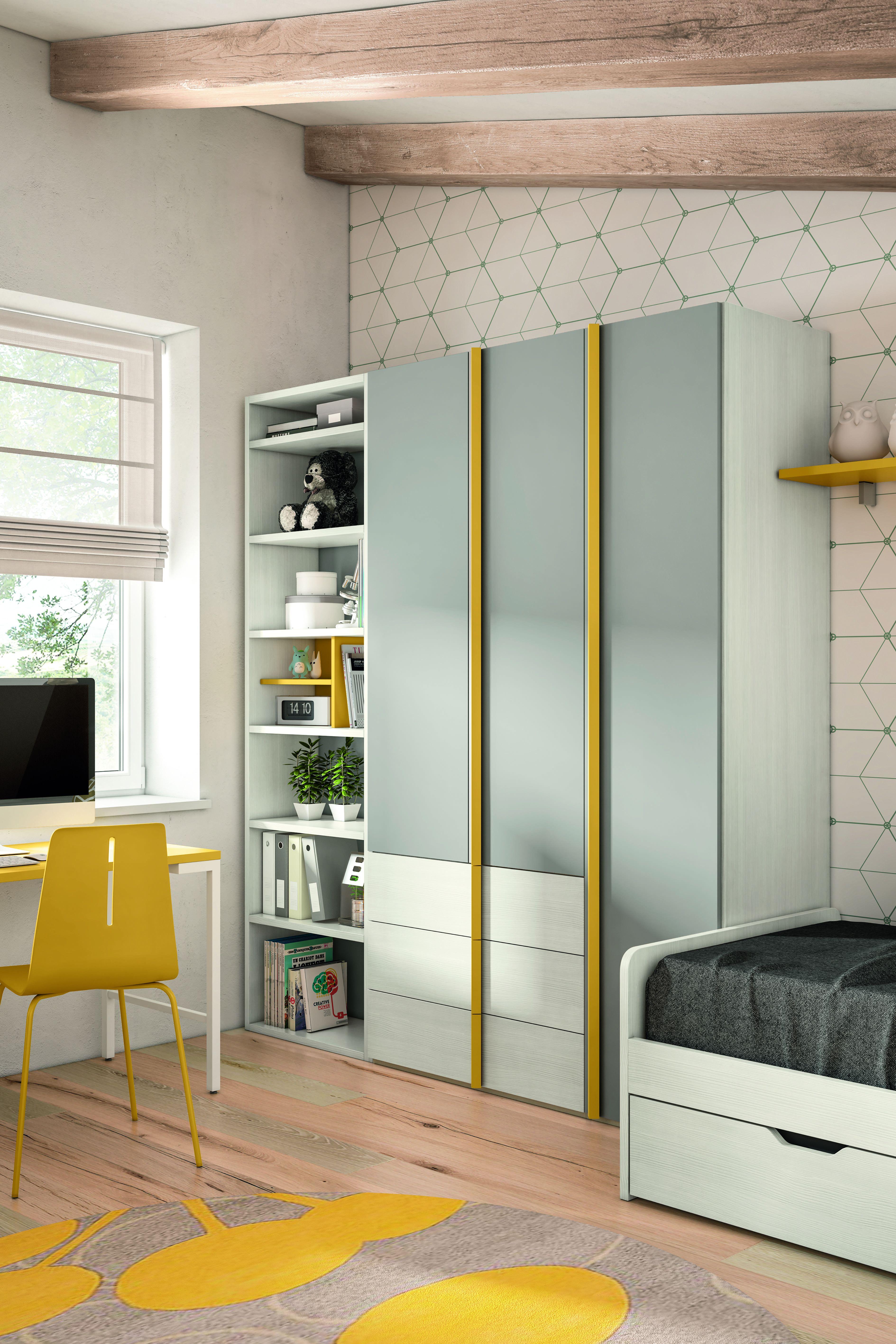 Vendita mobili online - armadio tre ante e cassetti ...