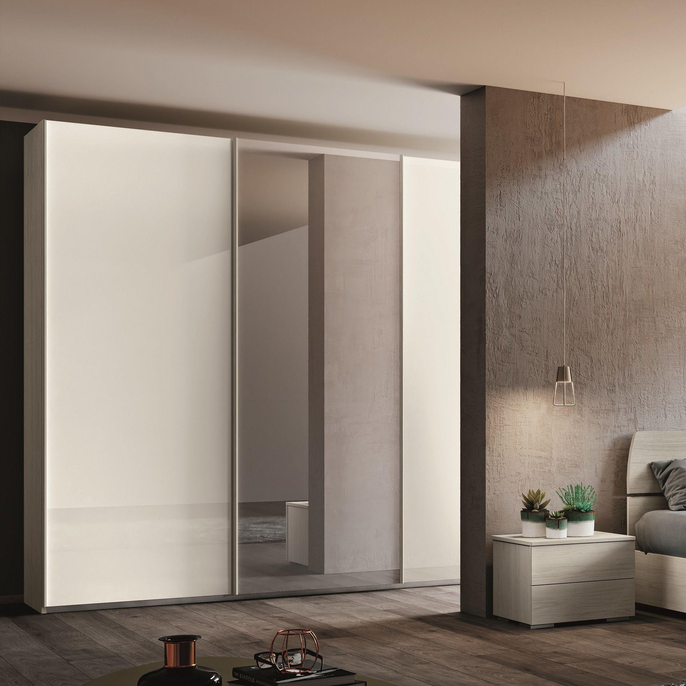 Armadio Specchio 2 Ante.Vendita Mobili Online Armadio Scorrevole Con Specchio Offerte Webarredamenti