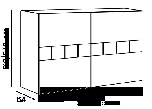armadio scorrevole bianco opaco