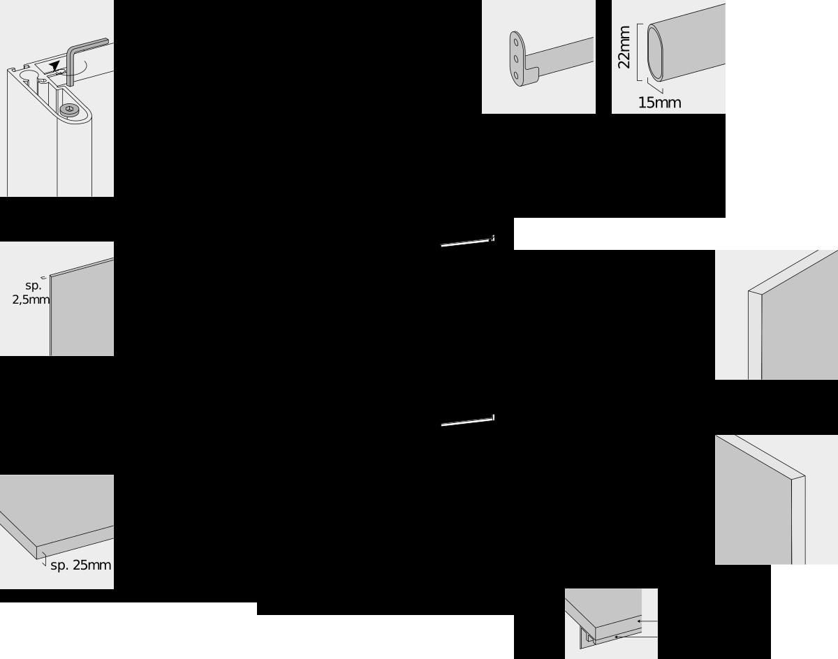 specifiche tecniche armadio scorrevole camera