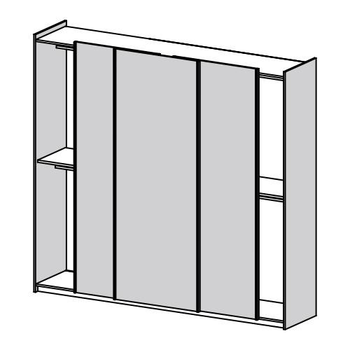 armadio struttura e frontali