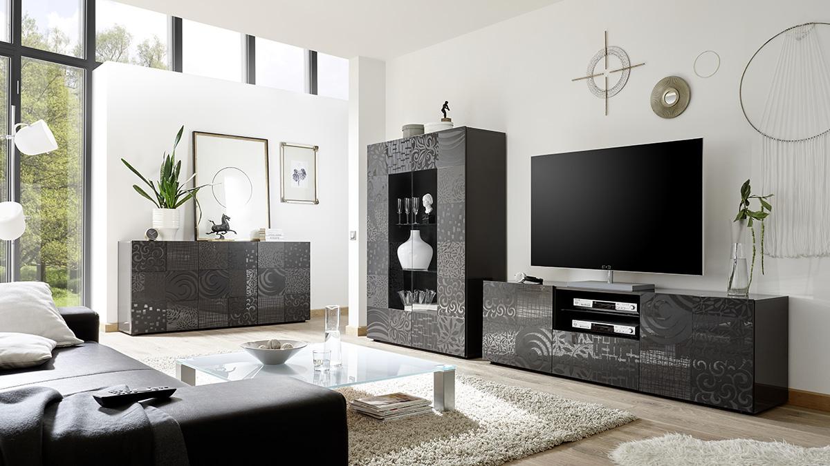 Vendita mobili online - Soggiorno moderno serigrafato | WEBARREDAMENTI