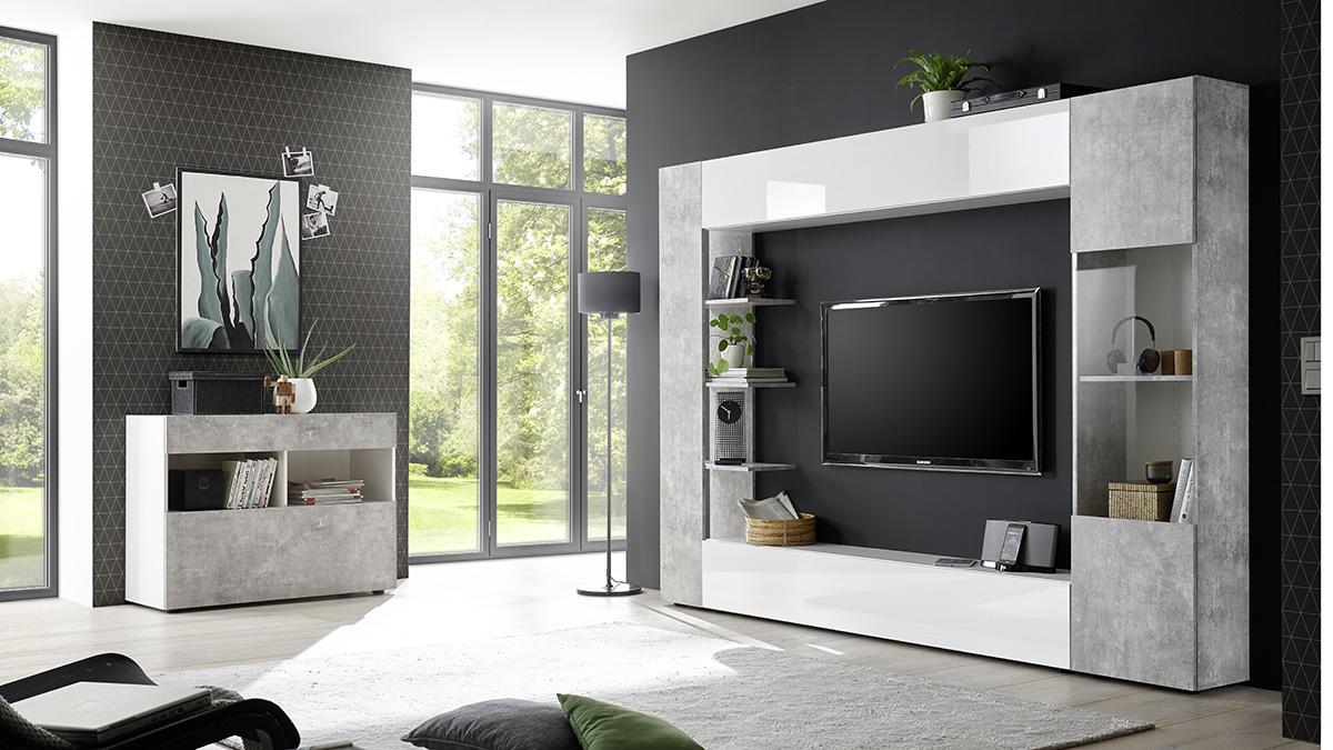 Vendita mobili online - Soggiorno moderno LARISSA | offerte ...