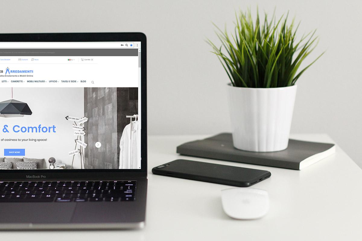 web arredamenti vendita mobili online